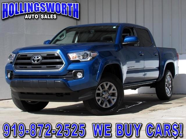2017 Toyota Tacoma 4WD Double Cab V6 AT SR5 (Natl)