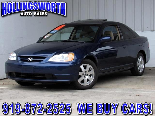 2003 Honda Civic EX Coupe with Front Side Airbags