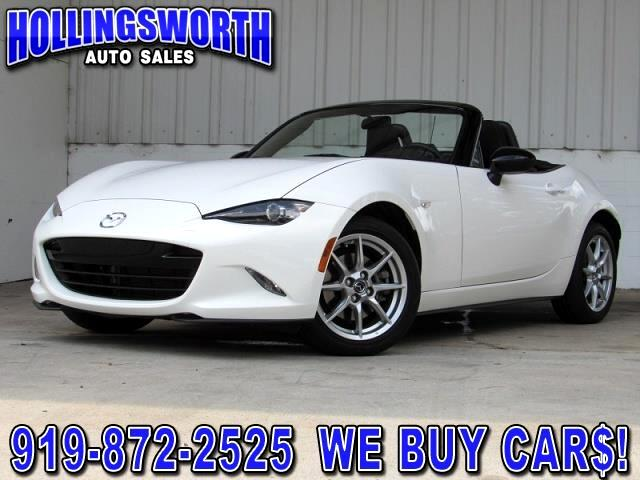 2016 Mazda MX-5 Miata Sport 6AT