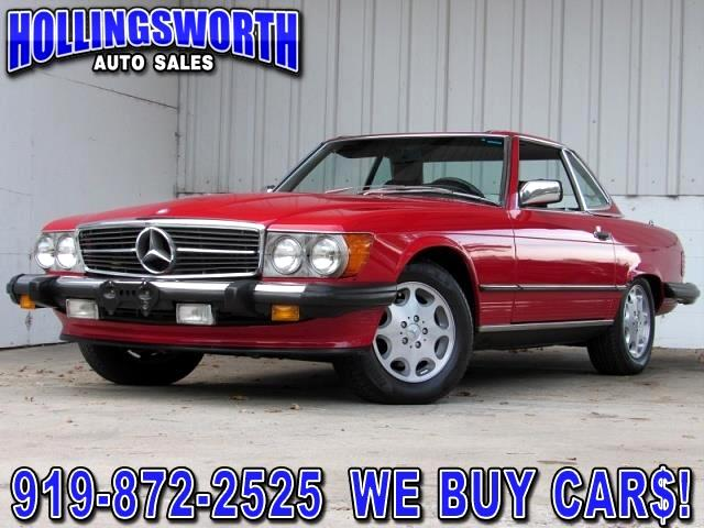 Mercedes-Benz 560 SL  1987