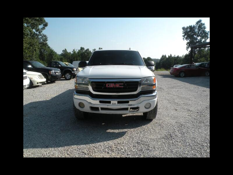 2007 GMC Sierra Classic 2500HD SLE1 Crew Cab Long Box 4WD