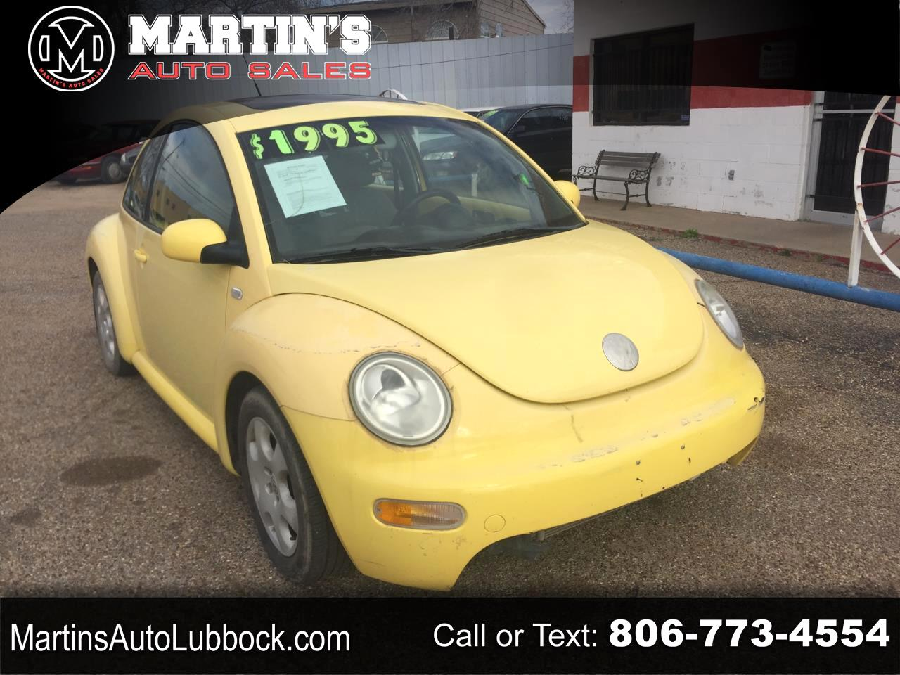 Volkswagen Beetle Coupe 2dr Cpe GLS Manual 2003