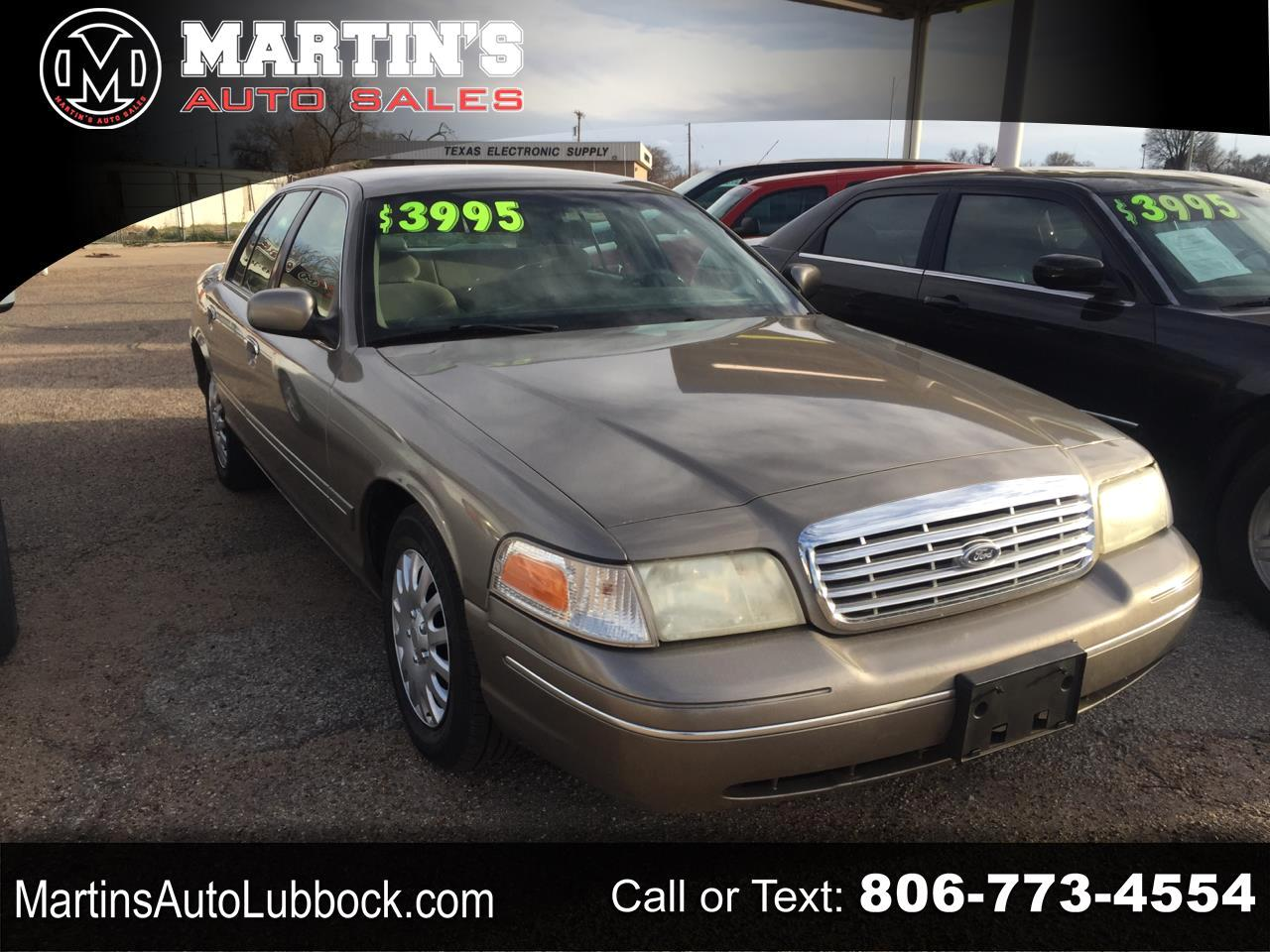 Ford Crown Victoria 4dr Sdn 2001