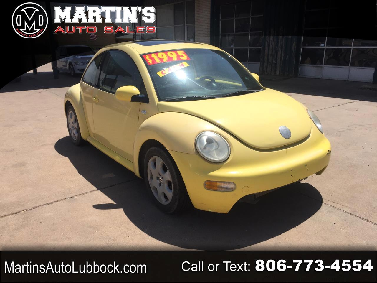 Volkswagen New Beetle Coupe 2dr Cpe GLS Auto 2003