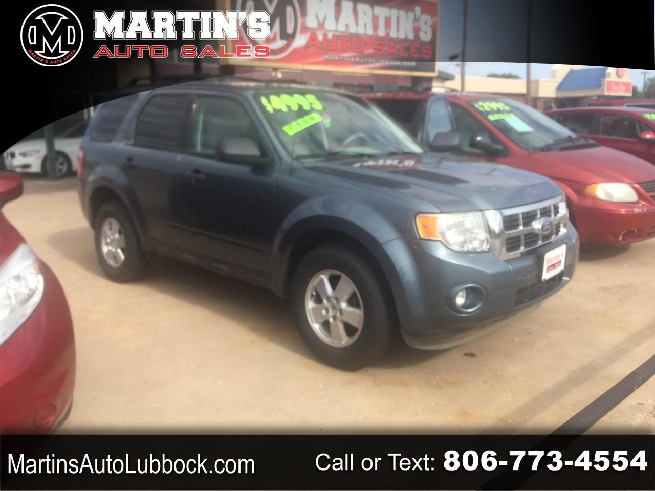 Ford Escape FWD 4dr XLT 2012