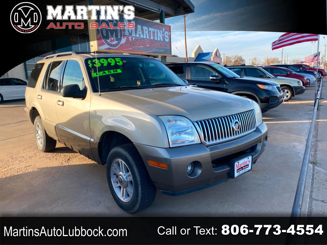 "Mercury Mountaineer 4dr 114"" WB Convenience 2004"