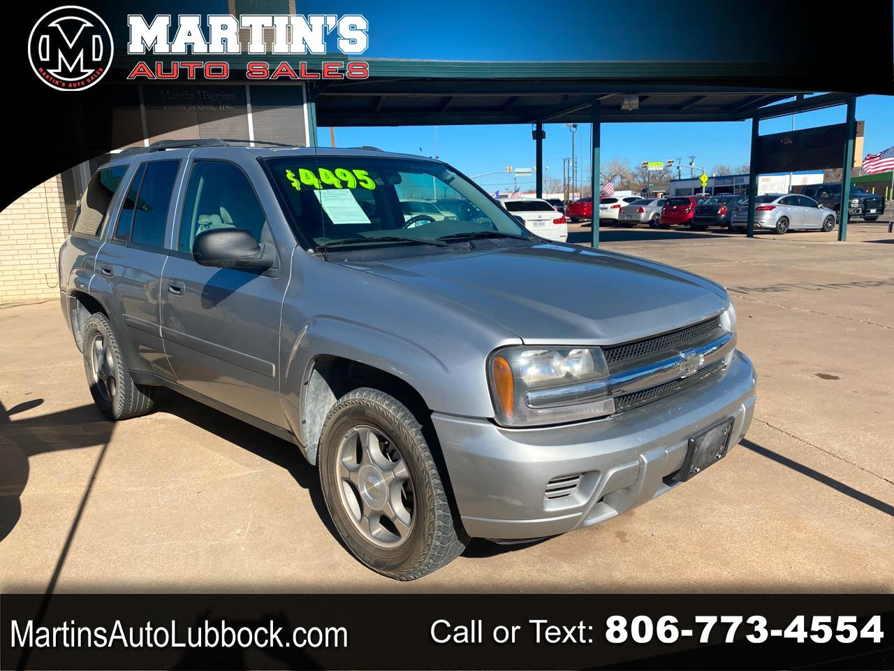 Chevrolet TrailBlazer 2WD 4dr Fleet w/2FL 2008
