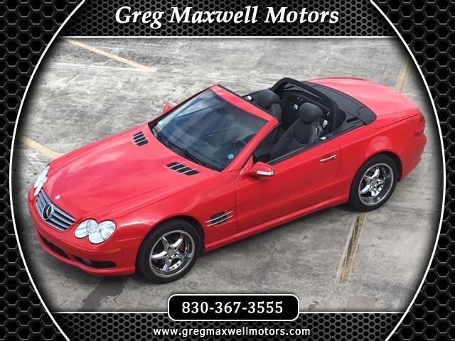 2003 Mercedes-Benz 500 SL coupe/roadster