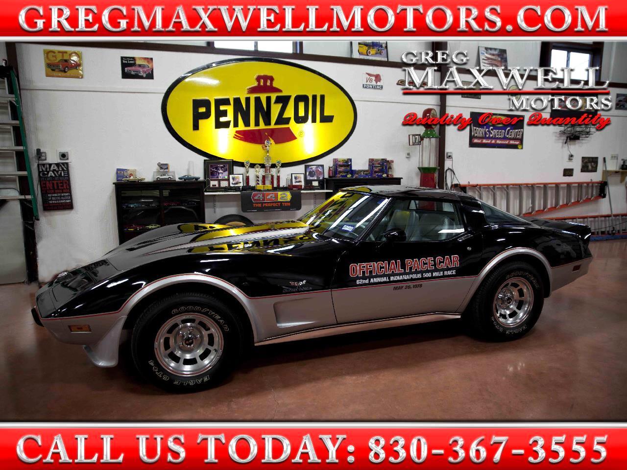 1978 Chevrolet Corvette Pacecar