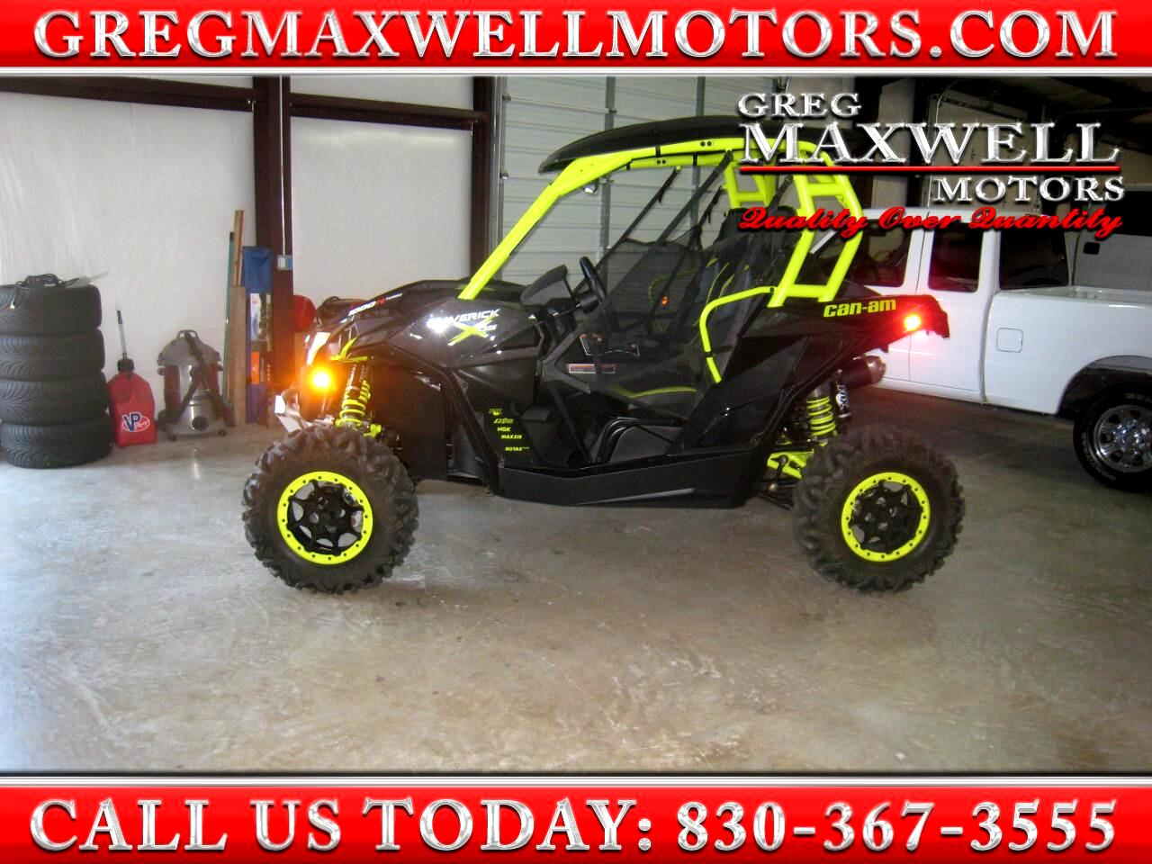2015 Can-Am Maverick 1000R Turbo X DS
