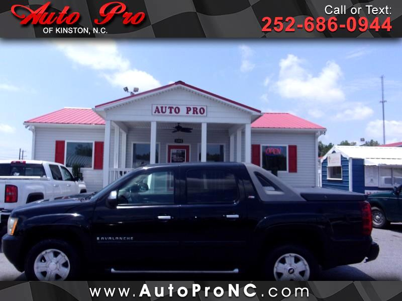 "2008 Chevrolet Avalanche 4WD Crew Cab 130"" LT w/3LT"