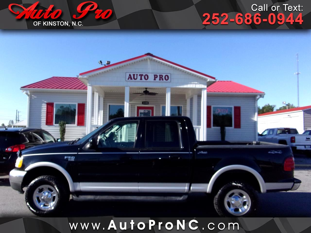 "2003 Ford F-150 SuperCrew 139"" King Ranch 4WD"
