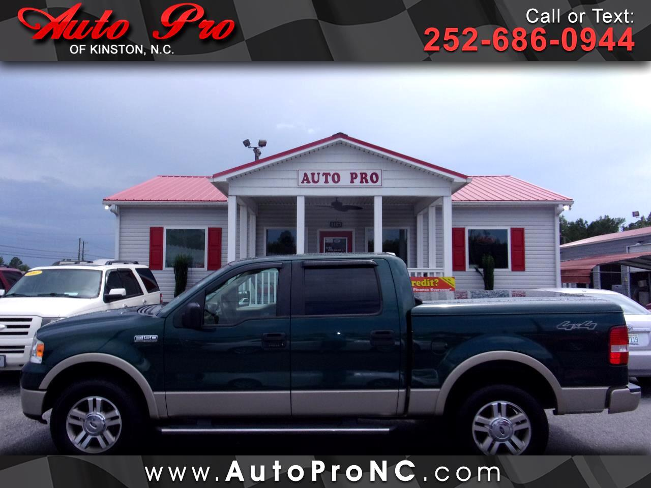 "Ford F-150 4WD SuperCrew 139"" 60th Anniversary 2008"