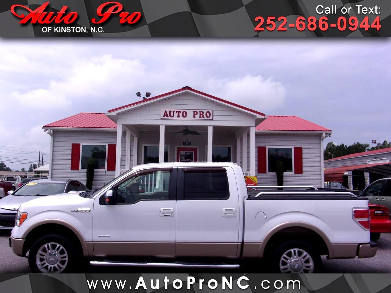 """Ford F-150 2WD SuperCrew 145"""" Platinum 2011"""