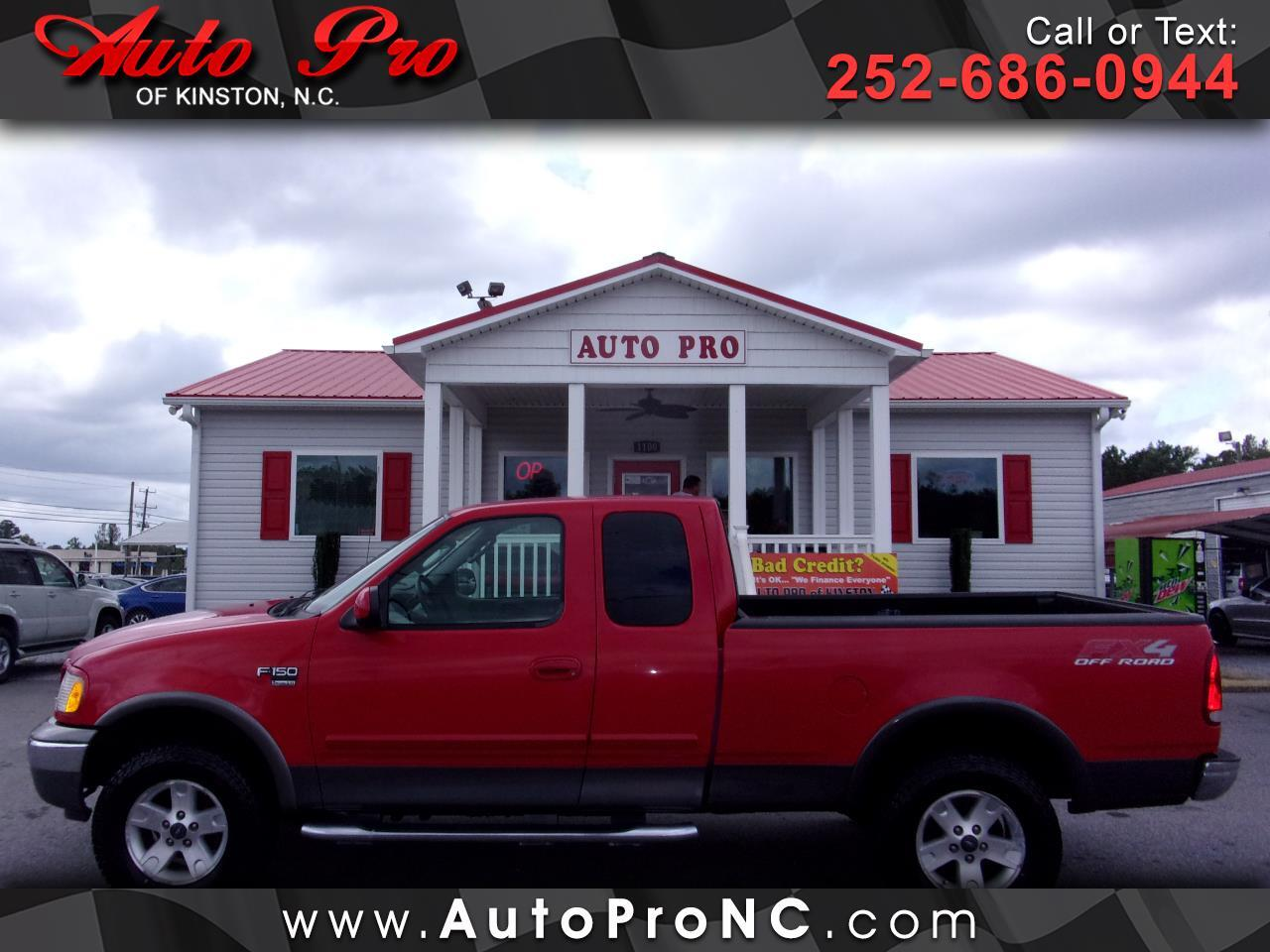"""Ford F-150 Supercab 139"""" XLT Heritage 4WD 2003"""