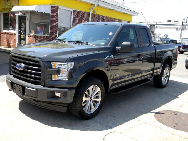 "2017 Ford F-150 4WD SuperCab 145"" FX4"
