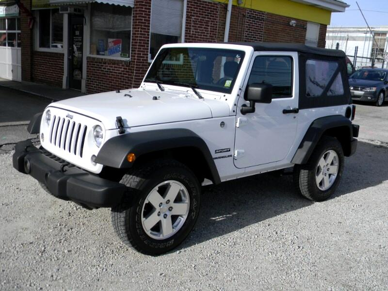 2017 Jeep Wrangler Sport 4WD