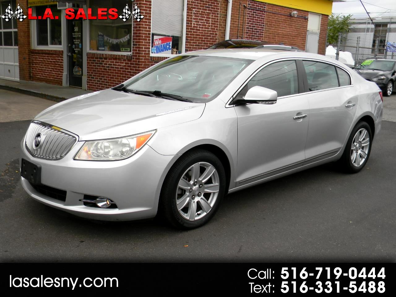 2012 Buick LaCrosse 4dr Sdn CXL FWD