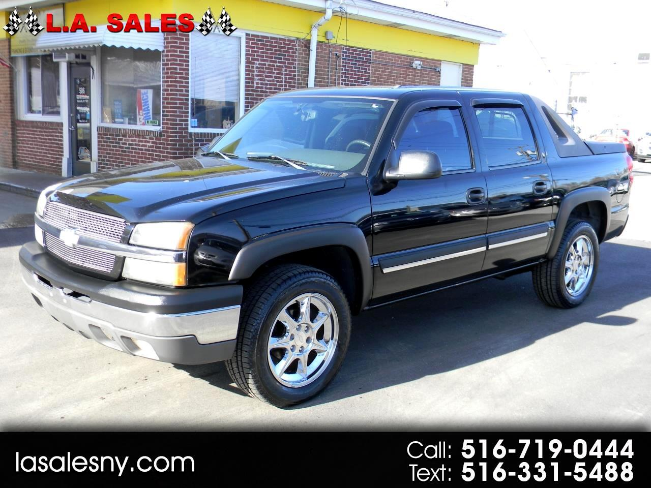 """Chevrolet Avalanche 1500 5dr Crew Cab 130"""" WB 4WD 2004"""