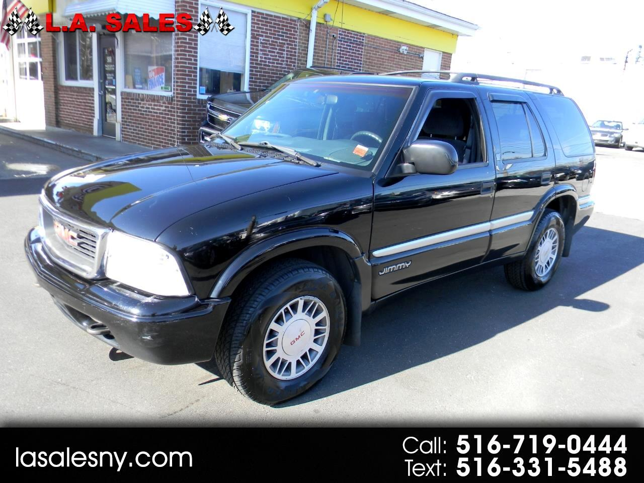 GMC Jimmy 4dr 4WD SLE Convenience 2000