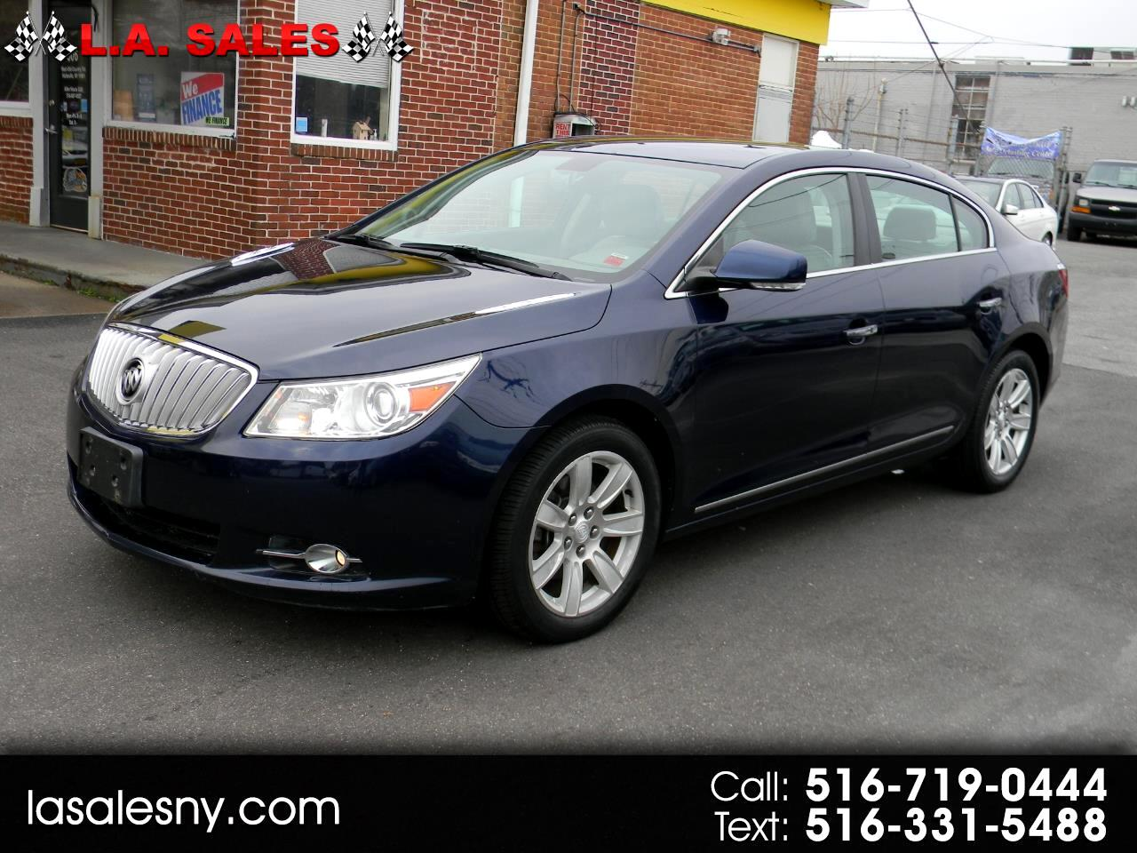 Buick LaCrosse 4dr Sdn CXL 3.0L AWD 2010