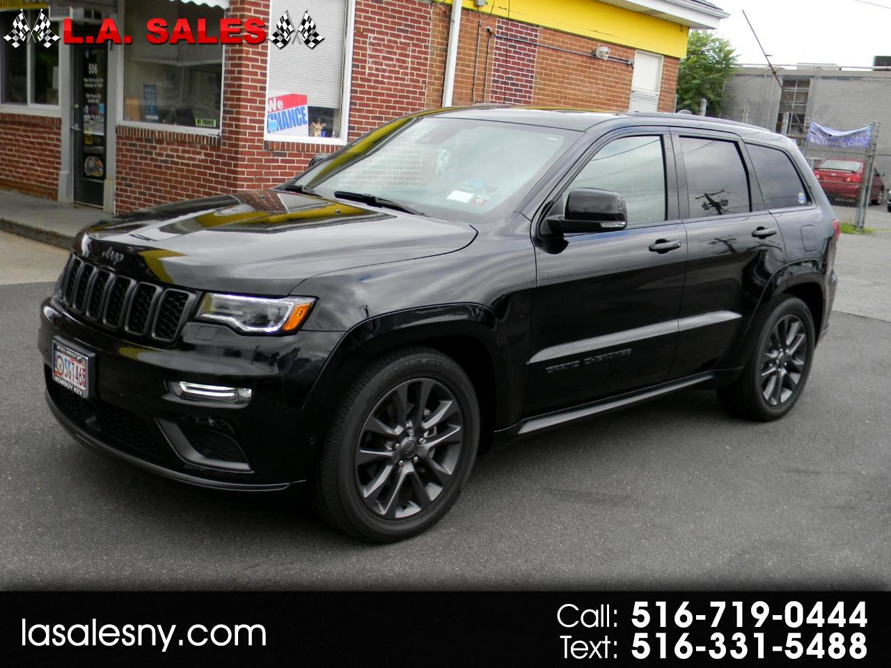 Jeep Grand Cherokee High Altitude 4x4 *Ltd Avail* 2018