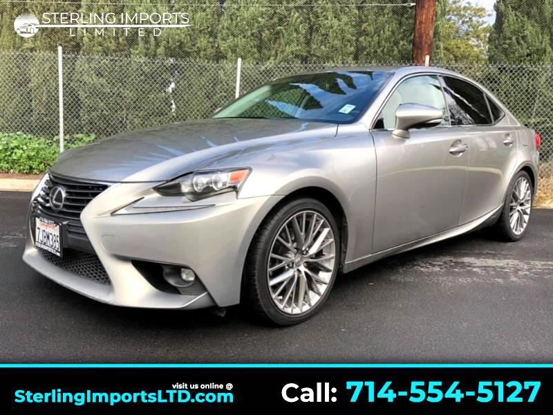 2015 Lexus IS 250 SPORT