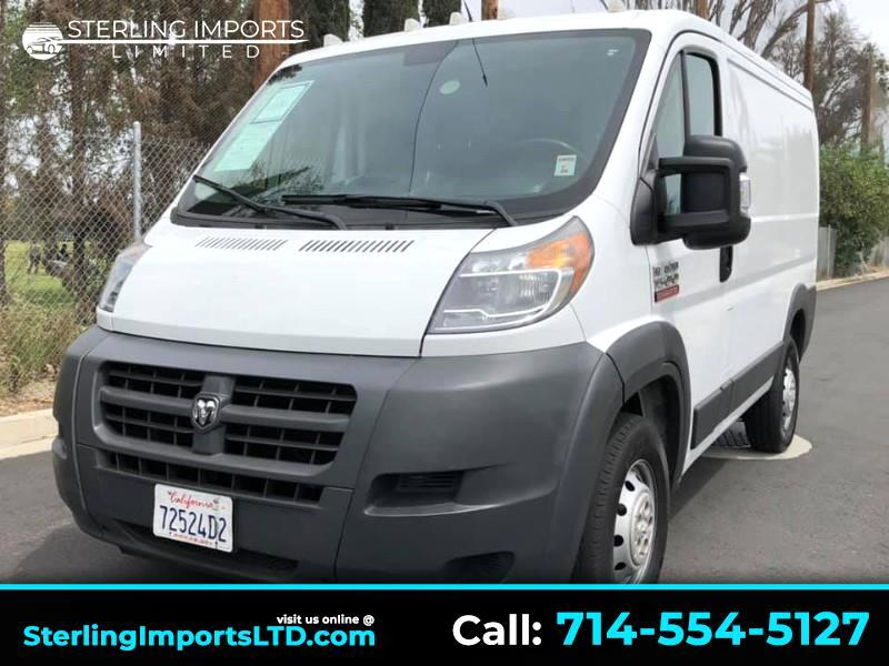2016 RAM Promaster 1500 Low Roof Tradesman 118-in. WB