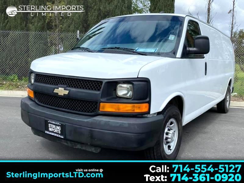 Chevrolet Express 2500 Cargo Extended 2013