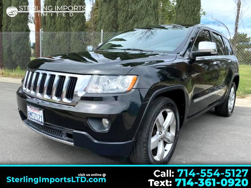 Jeep Grand Cherokee Limited 2WD 2012