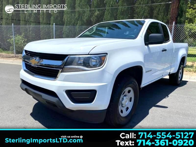 Chevrolet Colorado WT Ext. Cab 2WD 2015