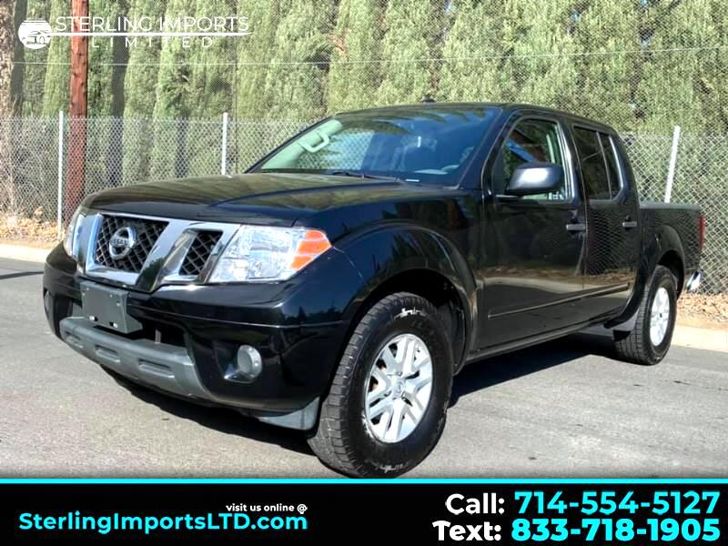 Nissan Frontier 2WD Crew Cab LWB Auto SV 2017