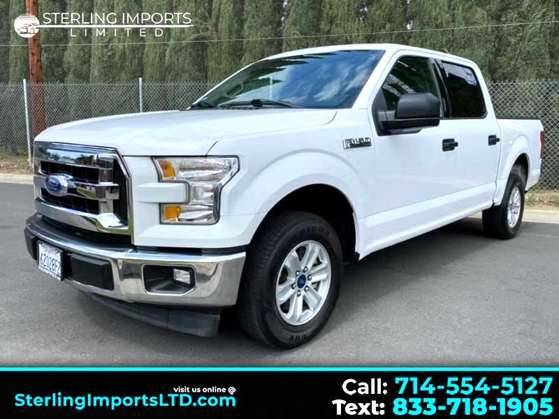 Ford F-150 XLT SuperCrew Short Bed 2WD 2017