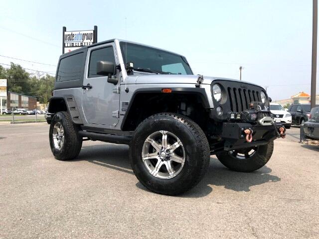 2014 Jeep Wrangler Sport 4Wd 2DOOR