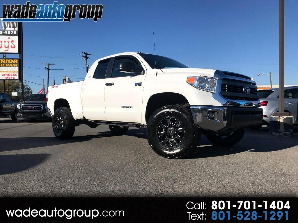 2015 Toyota Tundra SR5 5.7L V8 Double Cab 4WD TRD OFFROAD