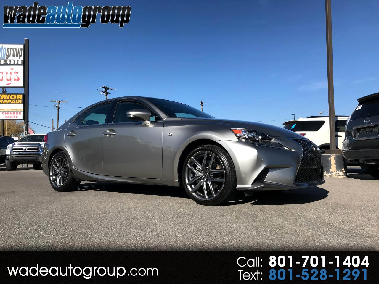 2015 Lexus IS 250 F-Sport AWD