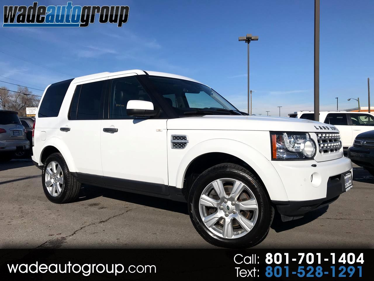 2013 Land Rover LR4 HSE Luxury
