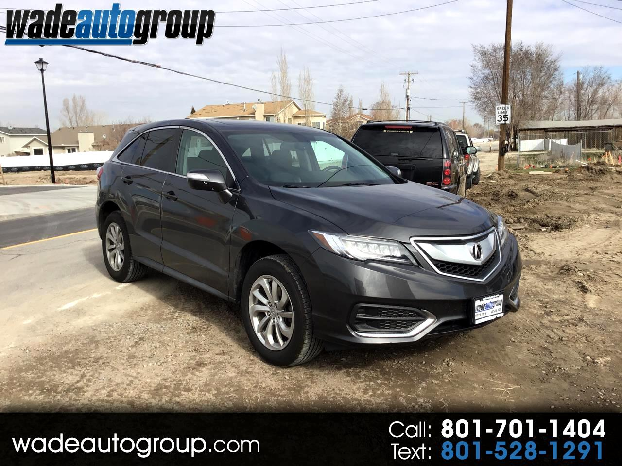 2016 Acura RDX 6-Spd AT AWD w/ Technolgy Package/AcuraWatch Plus