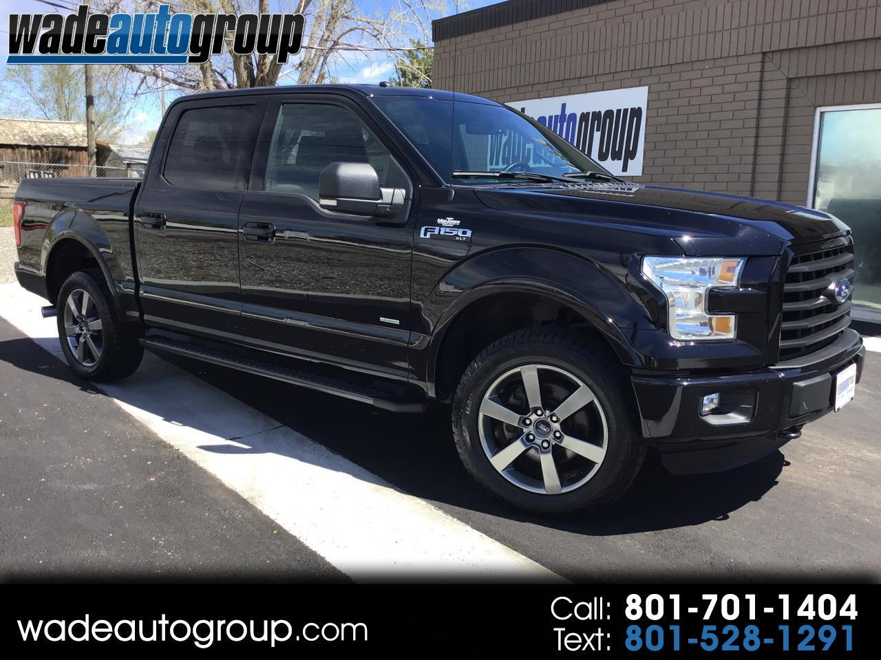 2016 Ford F-150 XLT Sport SuperCrew 3.5L V6 Turbo Ecoboost 4WD