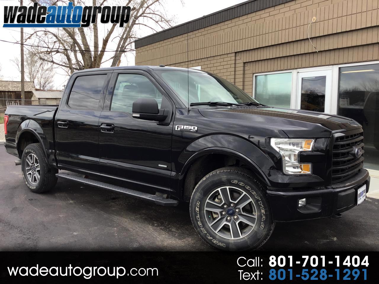 2016 Ford F-150 XLT Sport SuperCrew 2.7L V6 Turbo Ecoboost 4WD