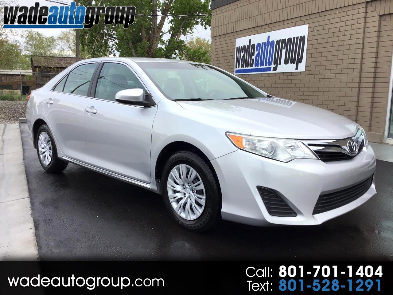 2013 Toyota Camry LE  2.5L 4Cyl FWD