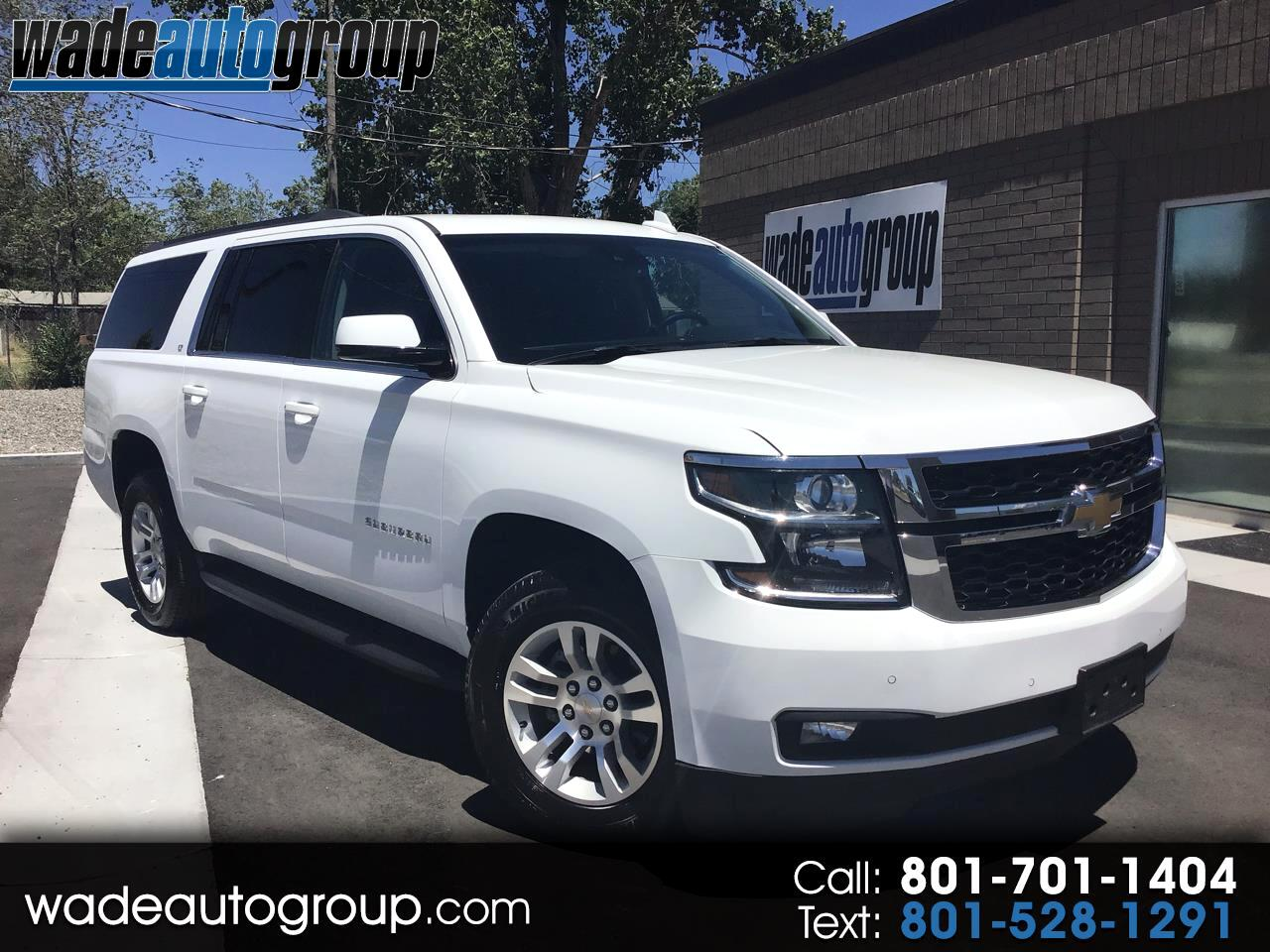2018 Chevrolet Suburban LT 4WD W/Factory DVD 8 Passenger