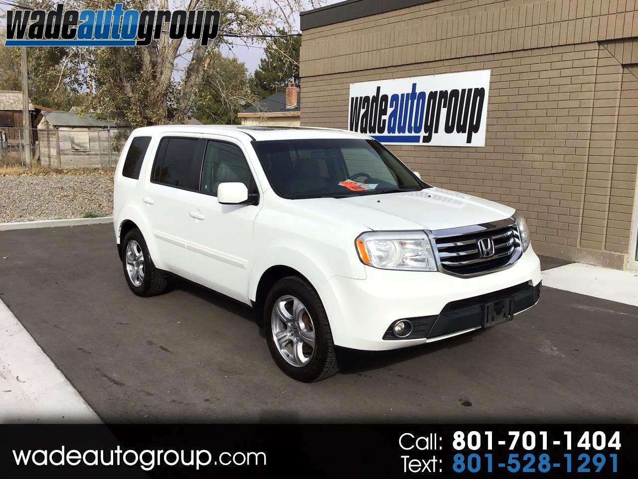 2013 Honda Pilot Ex L For Sale >> Used 2013 Honda Pilot Ex L 4wd 5 Spd At For Sale In Draper
