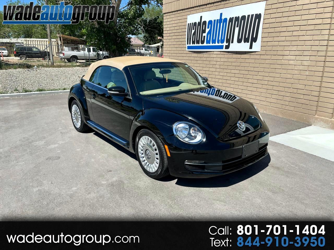 Volkswagen Beetle Convertible 2dr Auto 2.5L w/Tech *Ltd Avail* 2014