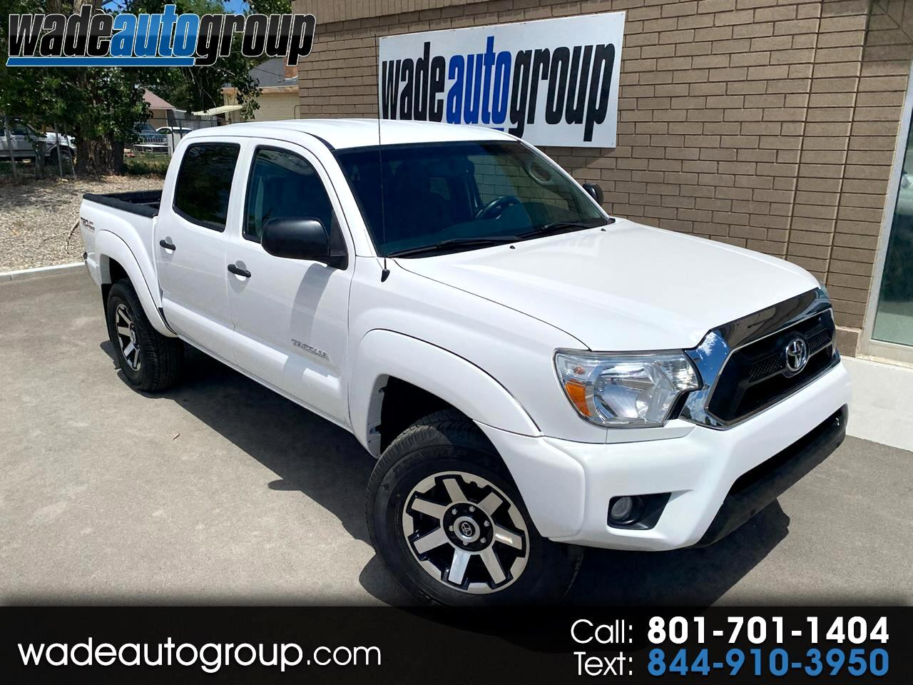 Toyota Tacoma 4WD Double Cab V6 AT TRD Off Road (Natl) 2013