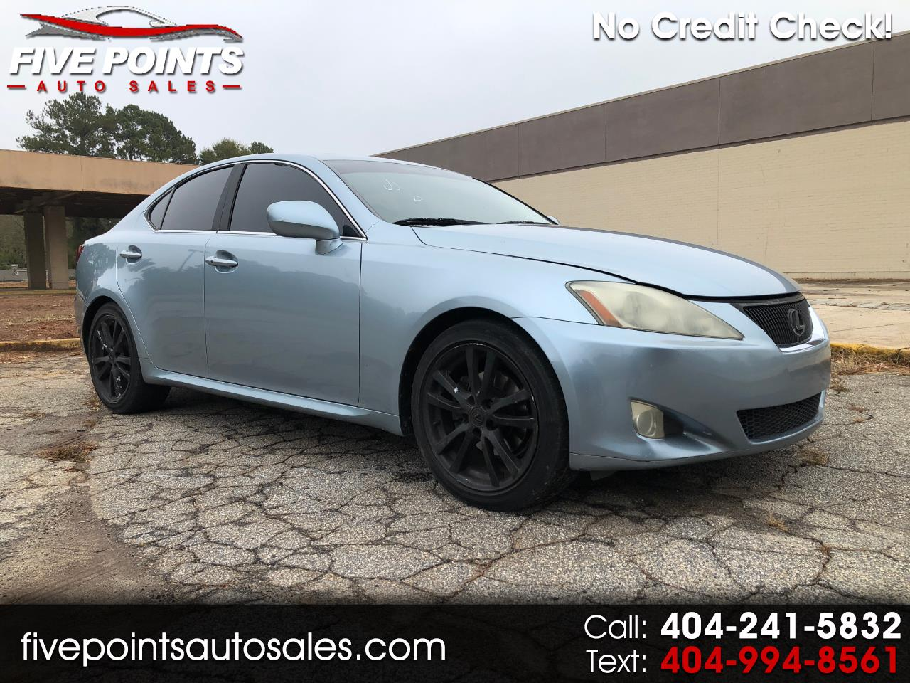2006 Lexus IS IS 250 6-Speed Sequential