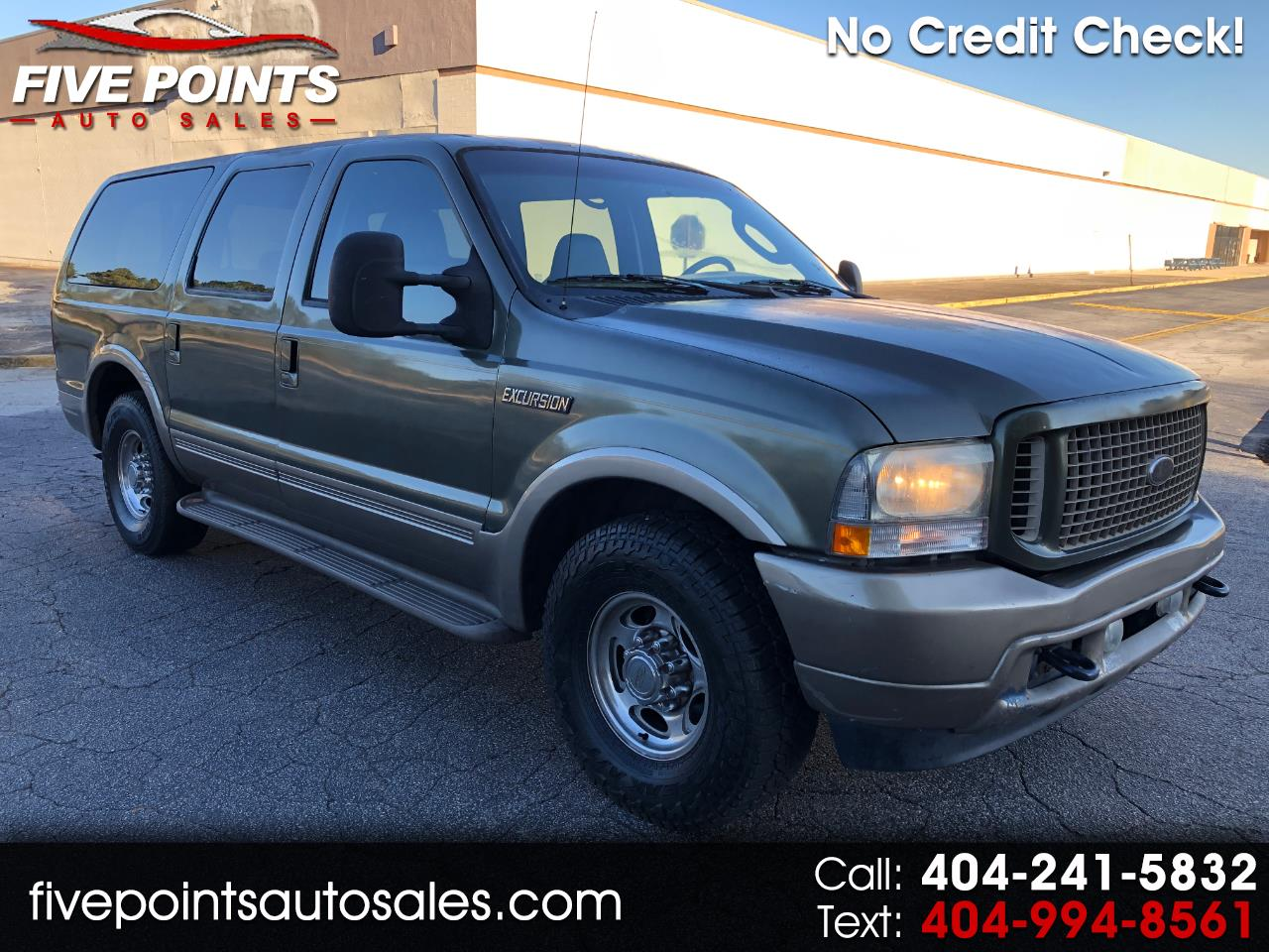 2004 Ford Excursion Eddie Bauer 6.8L 2WD