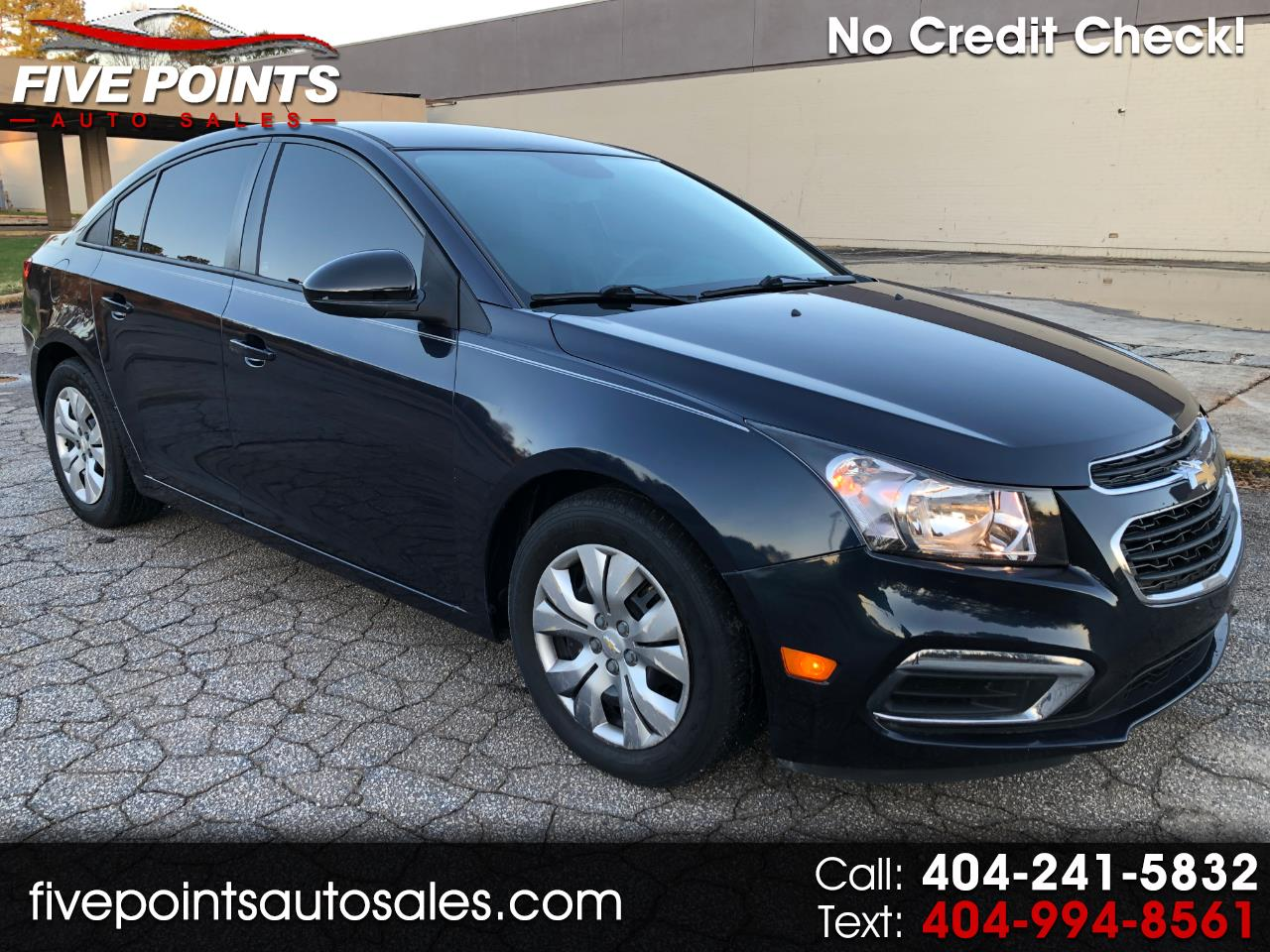 2015 Chevrolet Cruze LS Manual