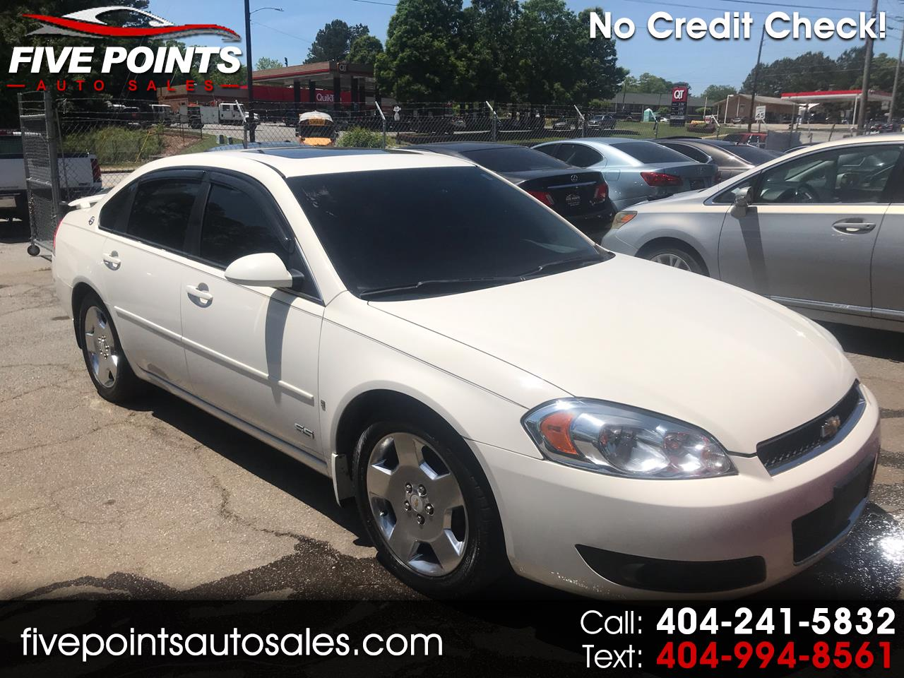 Five Points Auto Sales >> Buy Here Pay Here 2008 Chevrolet Impala For Sale In Decatur Ga