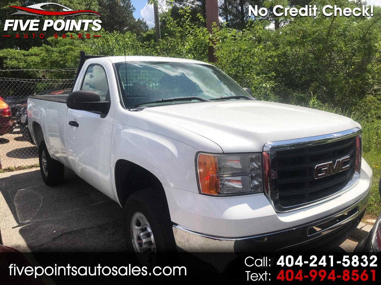 2010 GMC Sierra 2500HD Work Truck 2WD